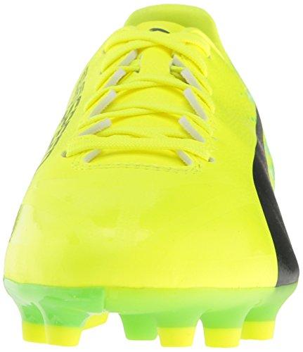 Puma EvoSPEED 17.4 AG Synthetik Klampen Yellow-Black-Green