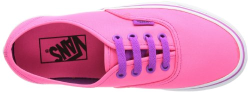 U Rosa Pink Vans Neon NEON AUTHENTIC PINK Pur Sneaker adulto unisex PUR an4B1xdn