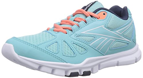 Yourflex Femmes Blue Chaussures 6 Reebok Bleu 0 coral Indoor Indigo Rs white Trainette crystal faux FgHpdqB