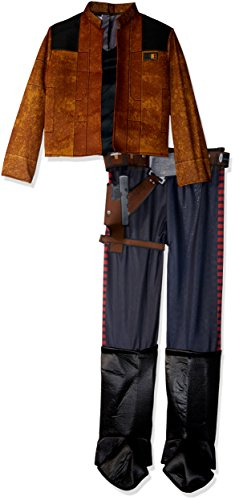 Rubie's Unisex-Children Solo: a Star Wars Story Han Deluxe Child's Costume, Large