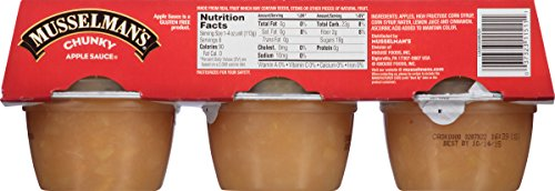 Musselman's Homestyle Chunky Applesauce, 4-Ounce Cups (Pack of 72) by Musselmans (Image #2)