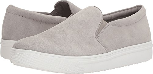 Blondo Women's Gracie Waterproof Light Grey Suede 8 M US