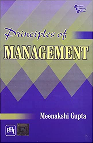 Buy Principles of Management Book Online at Low Prices in