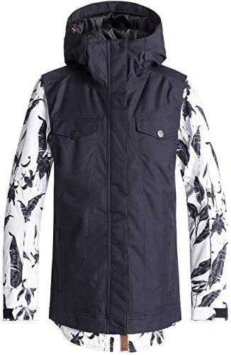 Roxy Snow Junior's Ceder Snow Jacket, EGRET_Love