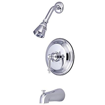 Kingston Brass KB2632TL Templeton Tub /& Shower Faucet Polished Brass
