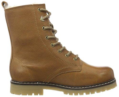 Son15 Botines Warm Clean Light para Boot Brown Bianco 24 Mujer Braun wIxAn