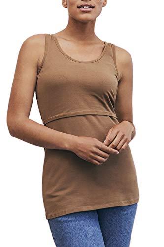 Senza Allattamento Le Donne maternit Maniche Top di di 48RgwTnq