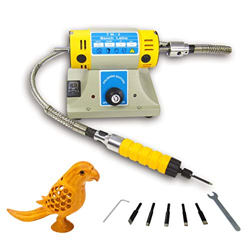 (Electric Chisel Carving Tool Wood Carving Machine Woodworking Chisel (Host +Chisel + shaft) (110V) )