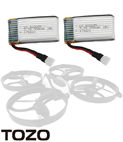 TOZO Q2020-05 Lithium battery for Q2020 Drone RC Quadcopter Remote Quadcopter.[ 2PCS ]