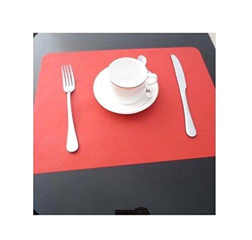 Honeysuck Rutschfeste Wasserdichte Hitzeisolierung Silikon Platzset Esstischunterlage