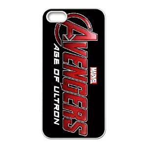 The Avengers Logo iPhone 5 5s Cell Phone Case-White H8561560