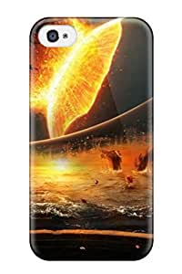 Premium Iphone 4/4s Case - Protective Skin - High Quality For Artistic End Of The World