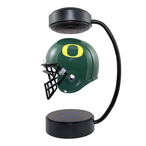 (Oregon Ducks NCAA Hover Helmet - Collectible Levitating Football Helmet with Electromagnetic)