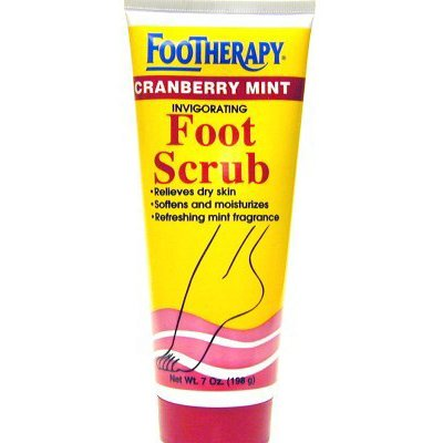 Queen Helene Footherapy Cranberry Mint Scrub 7 Ounce (207ml) (2 Pack)
