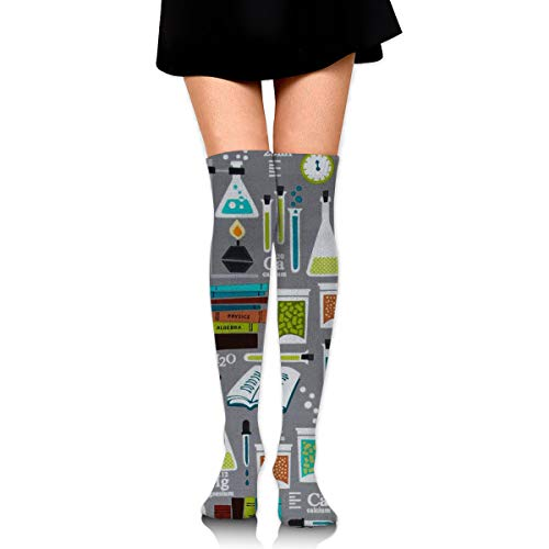 Chemistry Science Womens Knee High Socks Long Socks Sport Socks Thin For Running,Medical,Athletic,Travel - Skirt Socks Sports