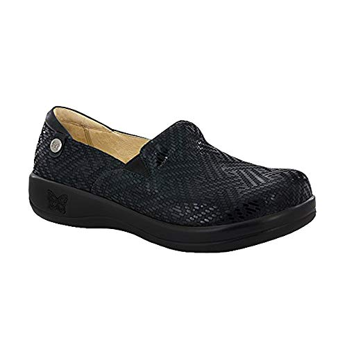 Alegria Keli Womens Slip-On Shoe Black Dazzler 10 M US