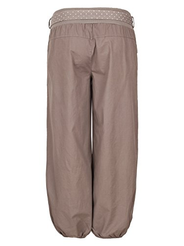 4tuality® - Pantalón - chino - para mujer marrón