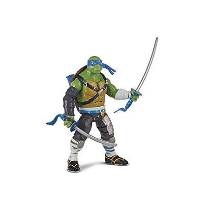 Giochi Preziosi Tortugas Ninja Movie Figura Leonardo Deluxe ...