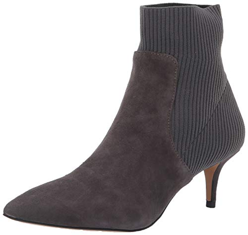 STEVEN by Steve Madden Women's Kagan Ankle Boot, Grey/Multi, 7.5 M US ()