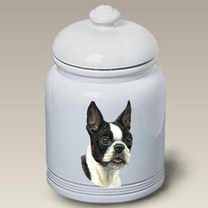 Boston Terrier - Linda Picken Treat Jar (Boston Terrier Cookie Jar)