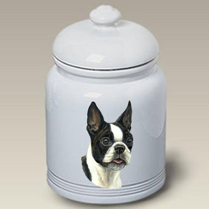 Boston Terrier - Linda Picken Treat Jar