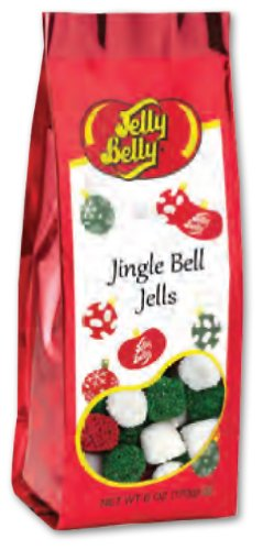 Christmas Jelly Candies (Jelly Belly Christmas Jingle Bell Jells 6oz)