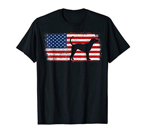 TREEING WALKER COONHOUND American Flag Vintage ()