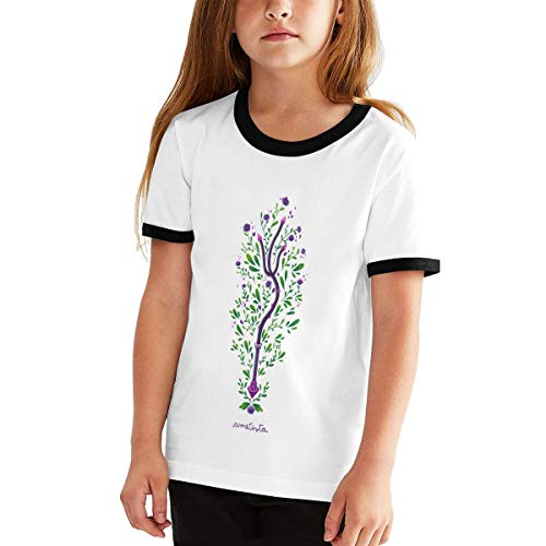 Kangtians RHZTPYRDE Steven Universe Girls Boys Youthful Fashion Fun Short Sleeve T-Shirt Black S ()