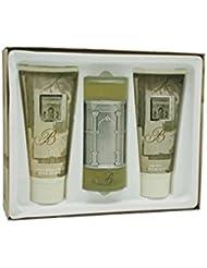 Bellagio By Michaelangelo For Men. Gift Set ( Eau De Toilette Spray 3.4 Oz+ Aftershave Balm 6.8 Oz + Shower Gel 6.8 Oz).