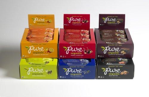Pure Bar Organic Variety Pack, Raw
