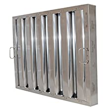 """Flame Gard Type VI Aluminum Baffle Grease Filter - 20""""H x 20"""" W by Flame Gard"""