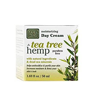 Dead Sea Collection Moisturizing Day Cream with Hemp & Tea Tree Oil 1.69 fl.oz