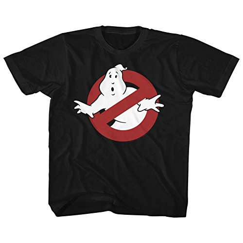 American Classics The Real Ghostbusters Animated TV Series Logo Youth Big Boys T-Shirt Tee]()