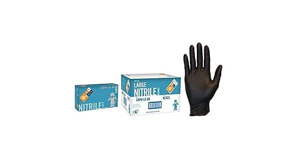Home Kitchen Nitrile Gloves Nitrile Pack Of 1000 The Safety Zone 1188f60cs Textured Black Safety Zone Gnpr Lg Bk Gnpr Standard Glove Powder Free L