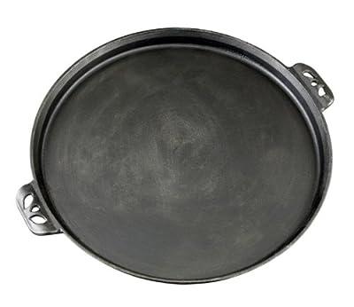 Camp Chef True Seasoned 14-Inch Cast Iron Pizza Pan