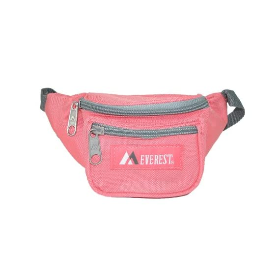 Everest Signature Waist Pack - Junior, Black, One Size 4 Our waist pack line has always been one of the original leaders in waist pack styles, and we are continuing that tradition with our junior waist pack line. The pack's compact size makes it perfect for kids and youths.