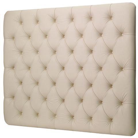 Cream Faux Leather Headboard - 3