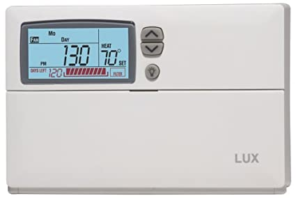 lux products cag1500 clean cycle clean air programmable thermostat rh amazon com lux 1500 thermostat manual pdf lux wx 1500 thermostat manual