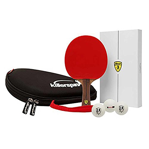 Killerspin Jet 800 Combo: Great Performing Paddle, Hard Racket Case and Three 4-Star Balls by Killerspin (Image #4)