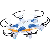 SMARTRONE Helicute Remote Control Quadcopter Drone 2.4GHz 4CH 6 Axis Gyro 3D Flips