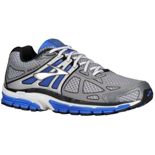 Brooks Men's Beast 14 Running Shoe (Silver/Black/Gold, 11 EE - Wide)