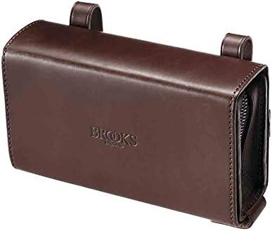 BROOKS(ブルックス) ユニークなスライド式レザー製サドルバッグ BROOKS D-SHAPED TOOL BAG 【日本正規品/2年間保証】