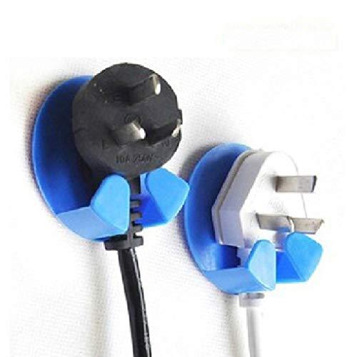 Kisame Holder Plug - 2pcs/Set Multi-Purpose Hooks Household Usage Practical Gum Hooks for Plug Colors Random