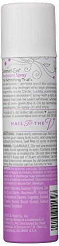 Summer's Eve Feminine Deodorant Spray, Island Splash, 2-Ounce Cans (Pack of 6)
