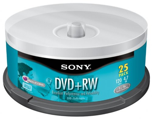 Sony 25DPW47RS2 DVD plus RW Re
