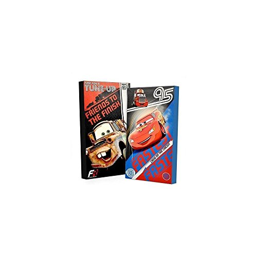Disney Cars Glow in the Dark 2-Pack Canvas Wall Art