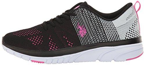 Assn Fashion white fuchsia women's Carey Polo Women's k s Sneaker U Black q4HwE0pFE