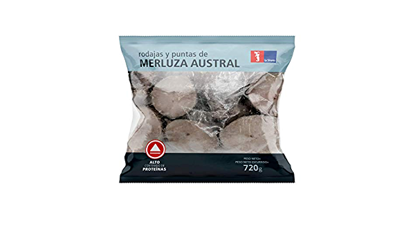 Rodajas Y Puntas Merluza Austral 720 gr: Amazon.es ...