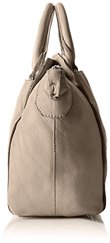 Liebeskind Berlin Fujif7 Toredo, Bolso de Mano Mujer, talla única Gris (elephant grey)
