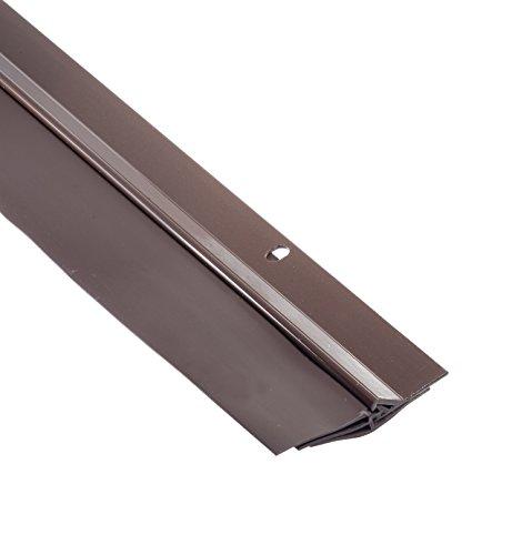 Brown Door Sweep (AM Conservation Group TSV325L-B Triple Seal Door Sweep, Brown)